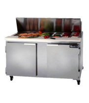 "Leader ESLM60 - Two Door 60"" Refrigerated Sandwich Prep Table - NSF Certified"