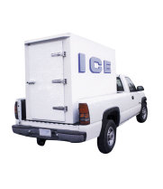 Polar Temp 4X8AD - 140 Cubic Feet - Refrigerated Ice Transport - Auto Defrost