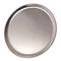 Update International PT-CS8 Aluminum Coupe Style Pizza Tray 8