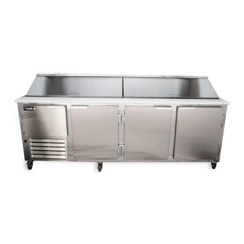 Magnificent Leader Lm96 96 Refrigerated Sandwich Salad Prep Table Home Remodeling Inspirations Genioncuboardxyz