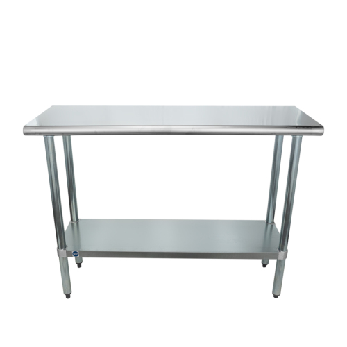 Universal SG X Stainless Steel Commercial Work Table W - 6 foot stainless steel prep table
