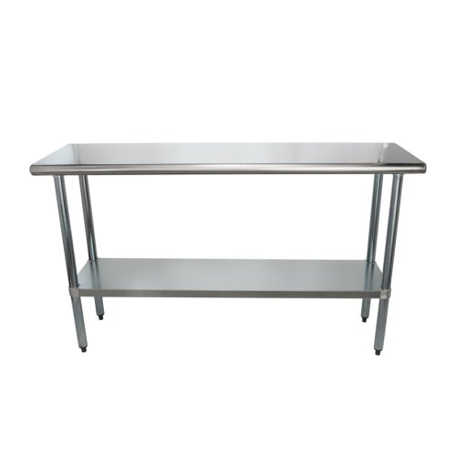 Fabulous Universal Sg1860 60 X 18 Stainless Steel Work Table W Galvanized Under Shelf Pabps2019 Chair Design Images Pabps2019Com