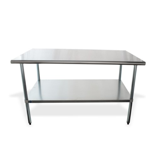 Universal X Stainless Steel Work Table W Under Shelf Elite - 30 x 60 stainless steel work table