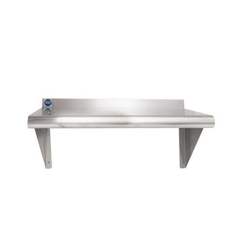 Universal Ws1224 Stainless Steel Wall Shelf 12 X 24
