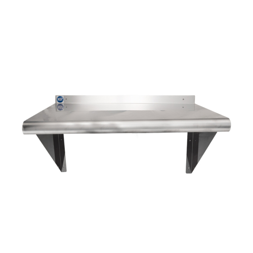 Universal WS X Stainless Steel Wall Shelf - Stainless steel table 18 x 24
