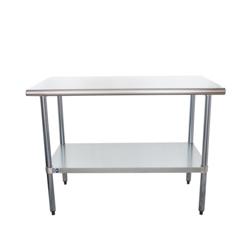 Universal SG X Stainless Steel Commercial Work Table W - Stainless steel work table 30 x 48