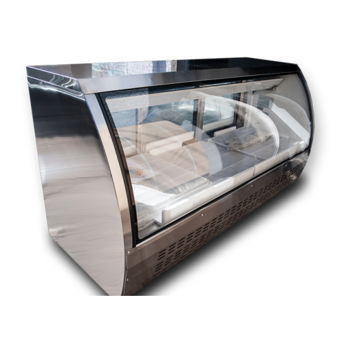 """Universal URCD79 79"""" Refrigerated Deli Case Counter Height"""