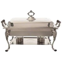Update International RC-20 Stainless Steel Royal Chafer 26.38