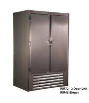 "Universal Coolers RIR72 - 78"" Swinging Solid Door Reach In Refrigerator"
