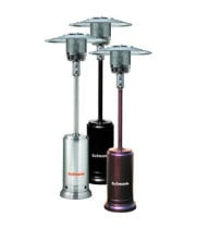 Universal PS-4002-CB - Schwank Black Powder Coat Deluxe Commercial Patio Heater (LP Gas)