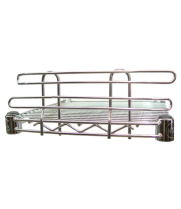 Universal CLG-14 - Chrome Wire Shelf Ledge 14""