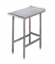 "Universal EST-1224 - 24"" X 12"" Stainless Steel Equipment Filler Table"