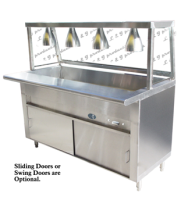 Universal GCTL-84 - 6 Well Cafeteria Steam Table - Gas