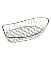 GET Enterprises - 4-80300 - Medium Stainless Steel Boat Basket
