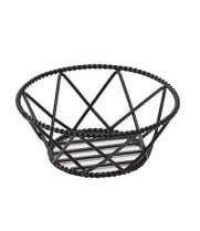 GET Enterprises - 4-31433 - Black Braided Rim Basket