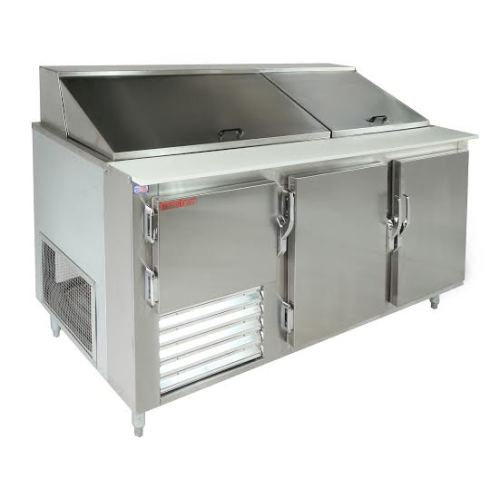 Universal Coolers SCBM Refrigerated Sandwich Prep Table - Sandwich prep table cooler