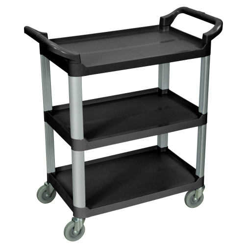 Luxor - SC12B - Small Specialty Utility Carts - Black