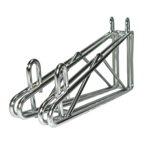 Universal MFG Chrome Double Wall Bracket 18