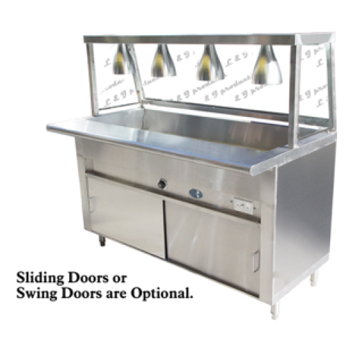 Universal ECTL Well Cafeteria Steam Table Electric - Cafeteria steam table
