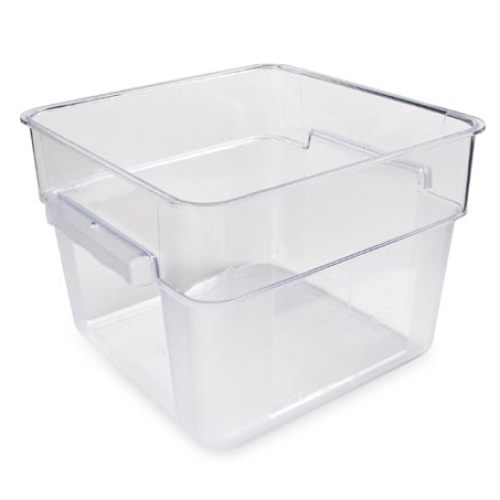 Universal CL 18L Food Storage Container Square Clear 18 L