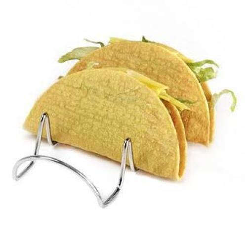 Clipper Mill - 4-81833 - Stainless Steel Three Taco Holder