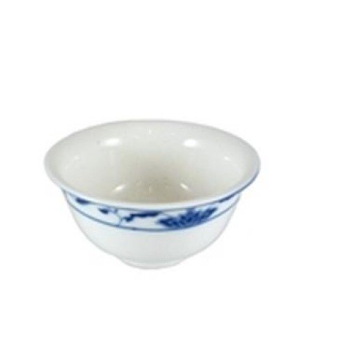 C.A.C. China 103-63 - Blue Lotus Rice Bowl 3-3/4