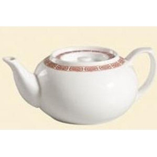 C.A.C. China 105-TPW-2 - Red Gate Teapot 32