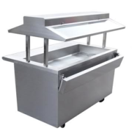Universal EBT-60-SC - 4 Well Refrigerated Buffet Table - Cold Food