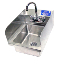 Universal WHS-1616-5D-2 - Wall Hung Hand Sink W/ Faucet - 16