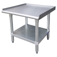 Universal ESS2424 - 24″ X 24″ Stainless Steel Equipment Stand W/ Stainless Steel Under Shelf  class=