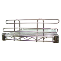 Universal MFG Chrome Wire Shelf Ledge 72