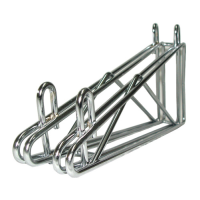 Universal MFG Chrome Double Wall Bracket 24