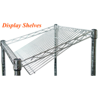 Universal MFG Chrome Wire Display Shelves 36