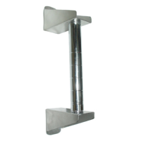 Universal MFG Chrome Wall-Mount Post 33