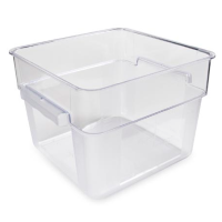 Universal Food Storage Container Square Clear