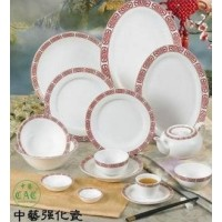 C.A.C. China 105-95 - Red Gate Jung Bowl 4-1/2