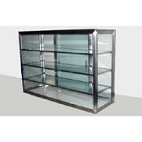 Carib 3 Compartment Sliding Door Display Case 12