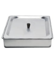 Cadco - SPL2 - Half Size Steam Pan w/ Stainless Steel Lid