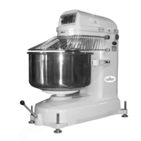 Bakery Aid by Unisource Heavy Duty Spiral Muscle Mixer w/ Bowl [UNI-NSE/T-176]
