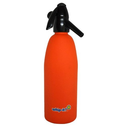 Whip It! - SSSV-08 - Orange Soda Siphon - Rubber Coated
