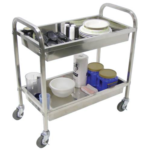 Luxor - SST2L - Stainless Steel Carts - Large