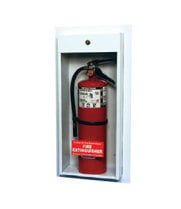 Universal  SF-999-HT  - Strike First Surface Mount Fire Extinguisher Cabinet for 10# Fire Extinguisher with Breaker Bar and Safety Locks