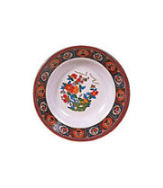 "Thunder Group 1107TP - Soup Plate - Peacock Collection 6-7/8"" (12 per Case)"