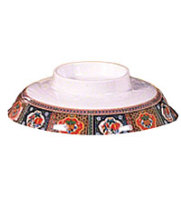 "Thunder Group 3201CTP - Noodle Bowl Lid - Peacock Collection 5-3/4"" (12 per Case)"