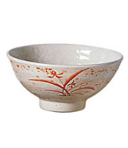 Thunder Group 5707GD - Donburo Soba Bowl - Gold Orchid Collection 30 oz (12 per Case)