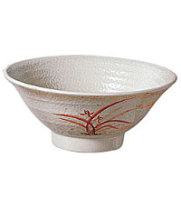 Thunder Group 5780GD - Donburo Soba Bowl - Gold Orchid Collection 32 oz (12 per Case)