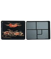Thunder Group JPRB002 - Makunouchi Bento Server w/ Fixed Tray