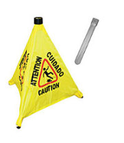 "Thunder Group PLFCS330 - 19-1/2"" Pop-Up Safety Cone"