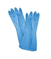 Thunder Group PLGL006BU - Blue Large Latex Gloves