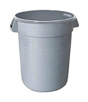 Thunder Group PLTC032G - Plastic Trash Can 32 Gal